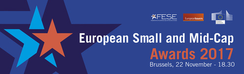 Nominations for the European Small and Mid-Cap Awards 2017 open