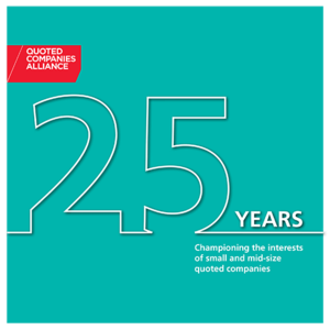 25 years of the Quoted Companies Alliance