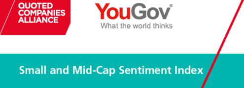 QCA/YouGov Sentiment Index finds quoted companies gloomy about the UK economy, but hopeful on their own prospects
