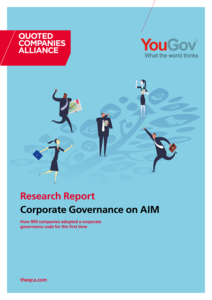 Corporate Governance on AIM: new QCA research report
