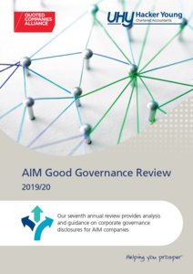 AIM Good Governance Review: New report from QCA & UHY Hacker Young
