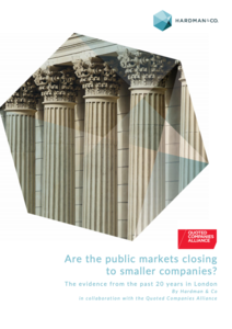 Report: Are the public markets closing to smaller companies?